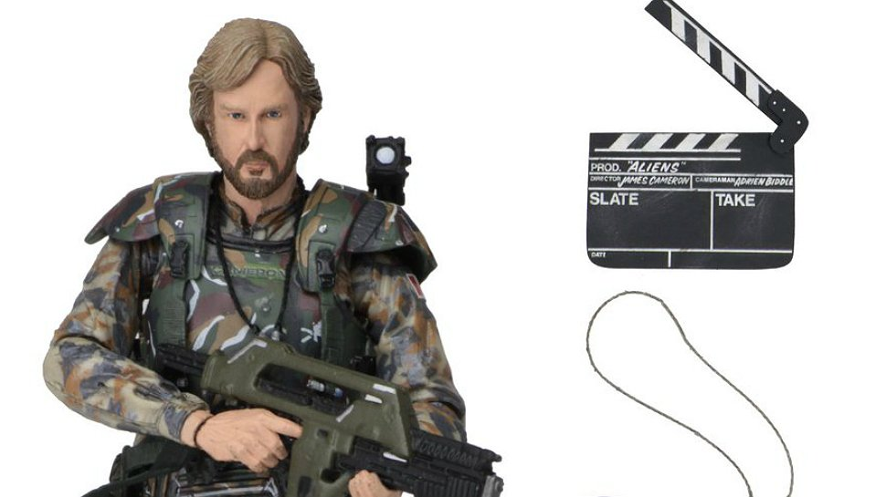 The latest #Aliens action figure is #JamesCameron as a Colonial Marine: https://t.co/pu3CyfdERr https://t.co/8v9qtiPgkA