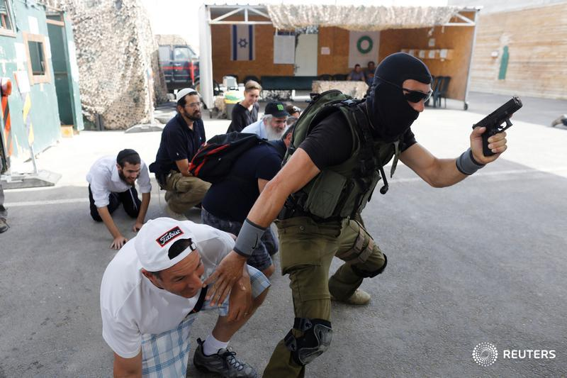 Inside the Israeli 'counter-terrorism boot camp' for tourists in the occupied West Bank: