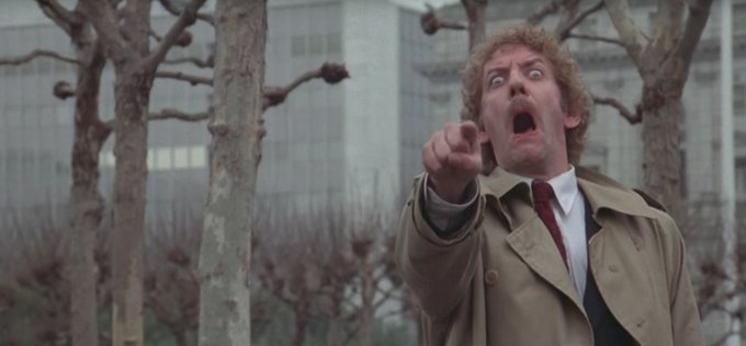 Still creeps me out ...  Happy Birthday Donald Sutherland! (Martyn)