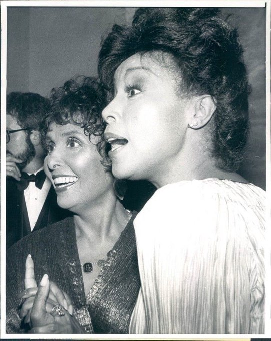 Lena w/ Diahann Carroll(Happy Birthday, QUEEN!)
