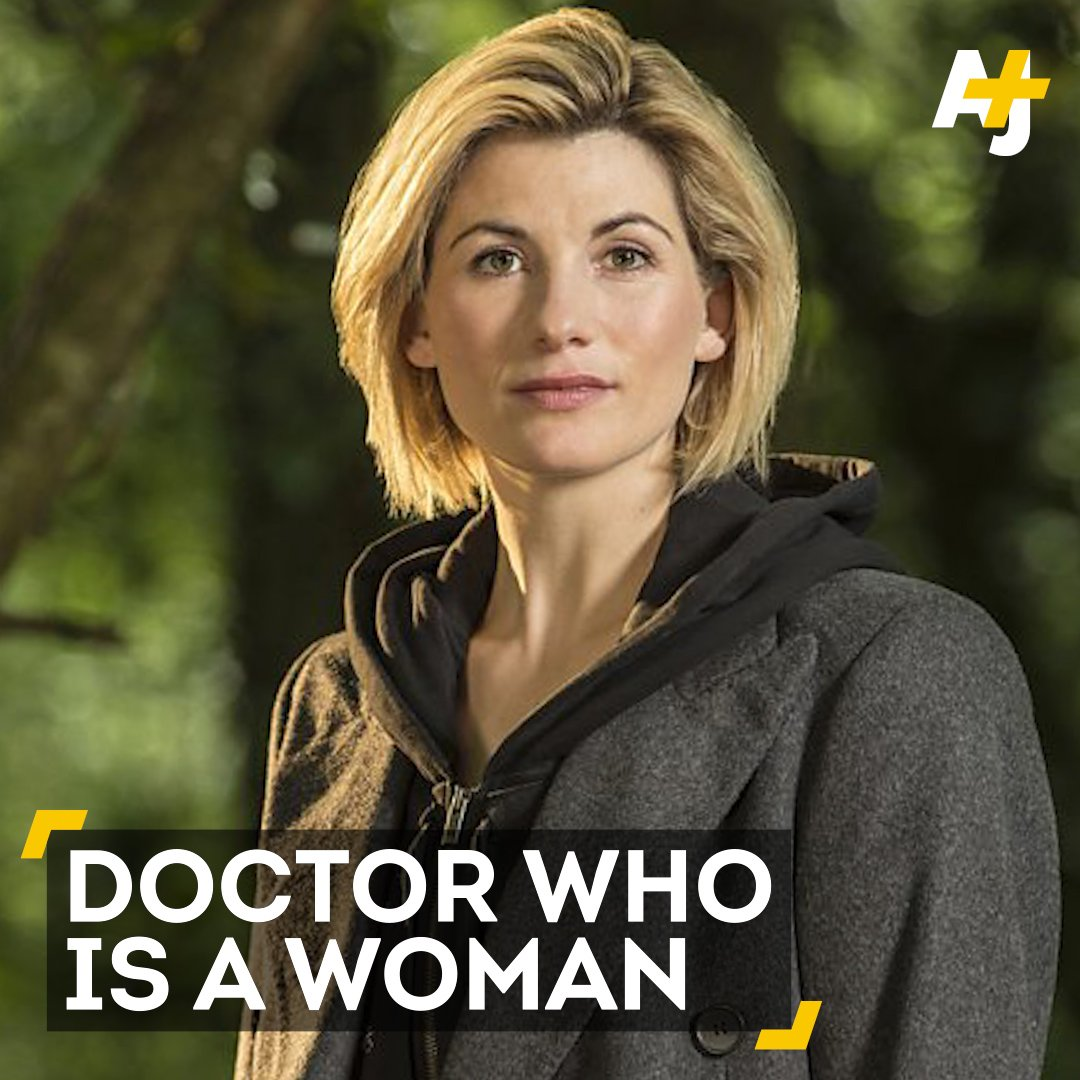 RT @ajplus: The first female Doctor Who made her first appearance this week during the show's Christmas special. https://t.co/7sDQVxc4K4