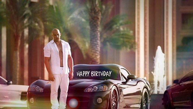 Happy Birthday Vin Diesel !