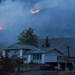 B.C. wildfire evacuations hit 17,000 as lightning, wind expected to feed flames