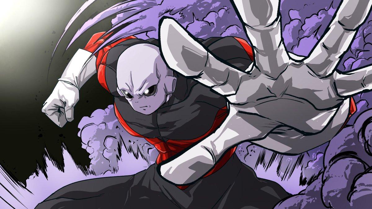 プライドトルーパーズ最強の戦士、灰色のジレン。#ドラゴンボール超