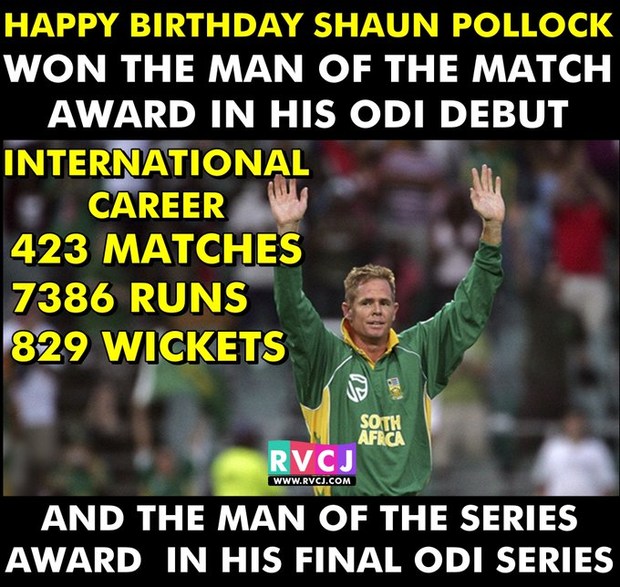 Happy Birthday Shaun Pollock