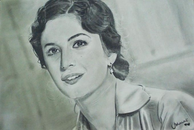Happy 16th Birthday Katrina Kaif! See this pencil portrait i made for you. <3