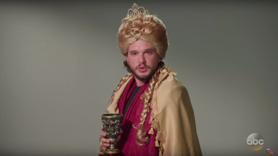 Watch @kitharingtoncom audition for every part in #GameofThrones  https://t.co/GhkO9EhnTY https://t.co/yNYWe1bX80