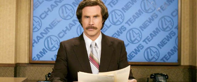 This just in! Happy 50th Birthday Will Ferrell. Stay classy.