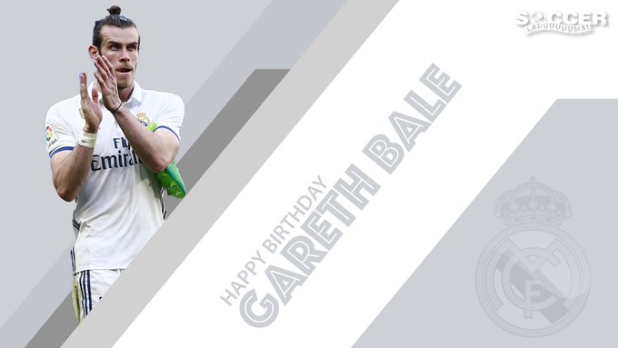 Happy Birthday Gareth Bale!Here\s to many more years and many more goals. Send through your wishes here.