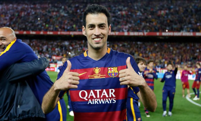 Happy 29th bday to the greatest defensive midfielder to ever play the game Sergio Busquets.