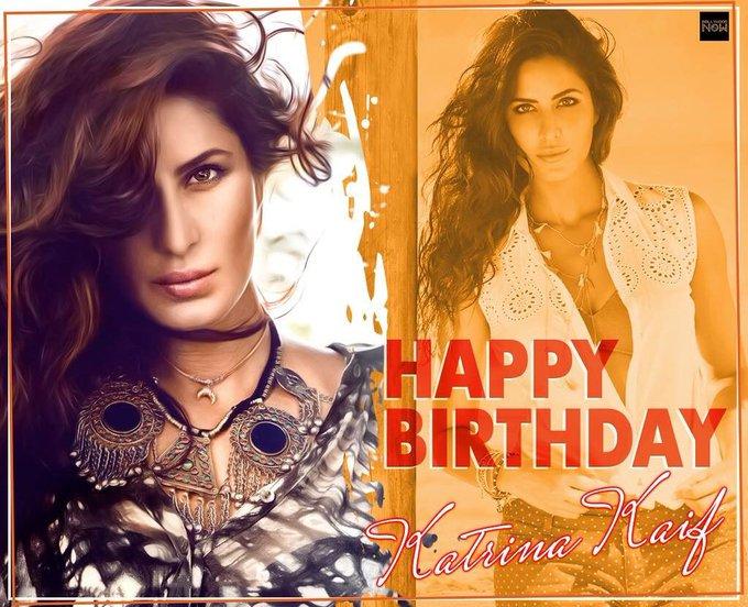 A very Happy birthday Katrina kaif, hv a successful year ahead