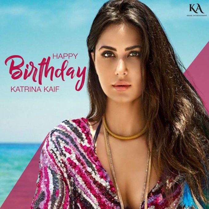 The diva of Bollywood!  Here\s wishing Katrina Kaif a very Happy Birthday.