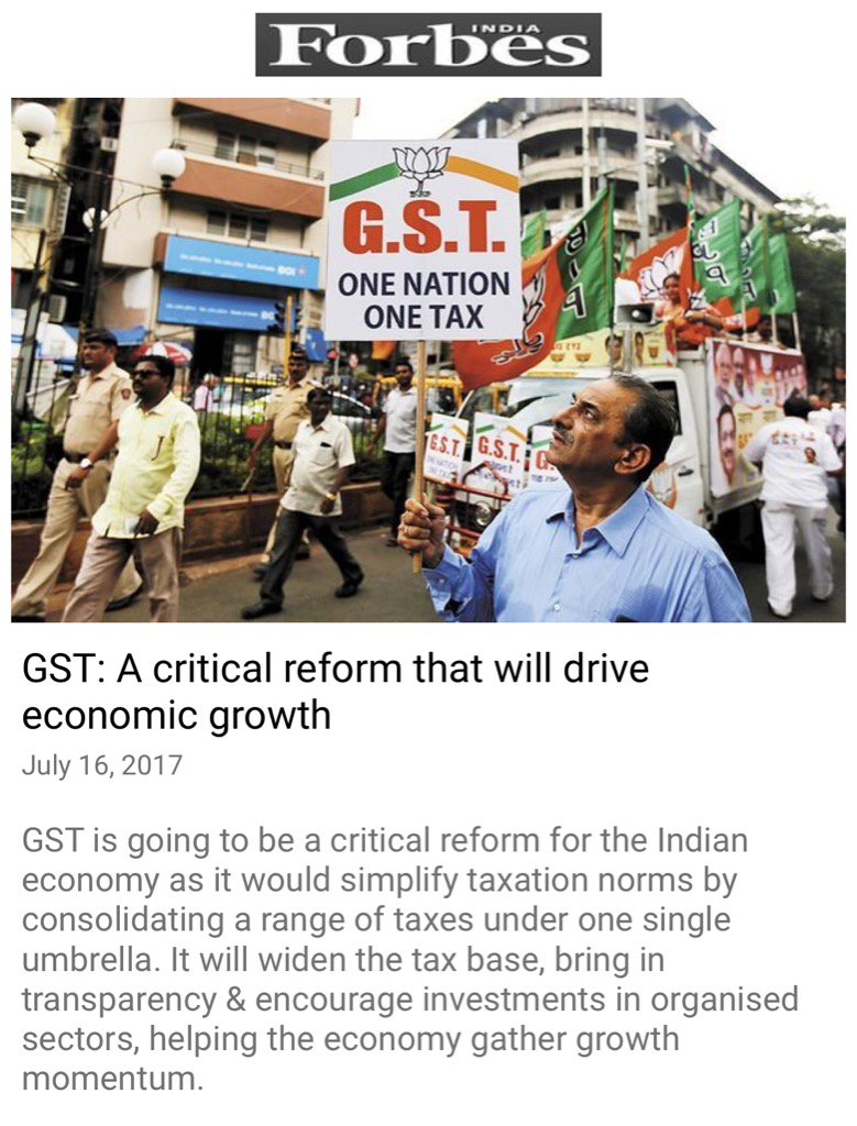 GST: A critical reform that will drive economic growth.  https://t.co/RGiuIRE2Fx  via NMApp https://t.co/tsedxwWpvD