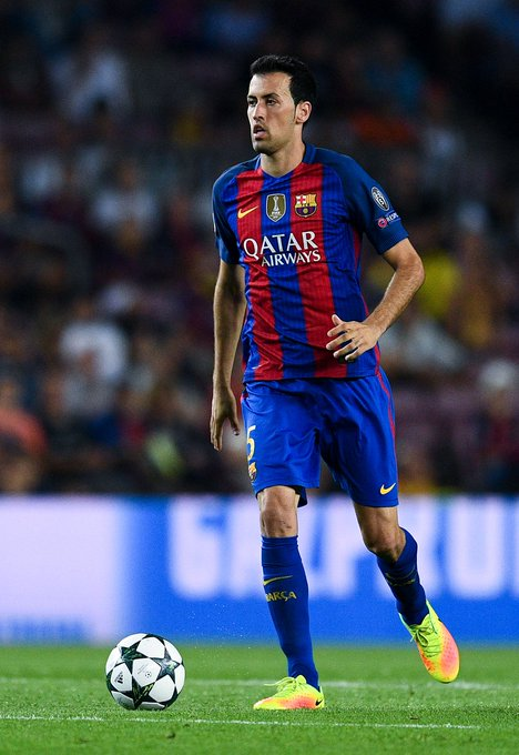 Barcelona midfielder Sergio Busquets celebrates his 29th Birthday today. Happy Birthday!!