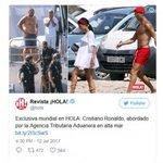 Cristiano Ronaldo's super yacht raided by Spanish custom officers