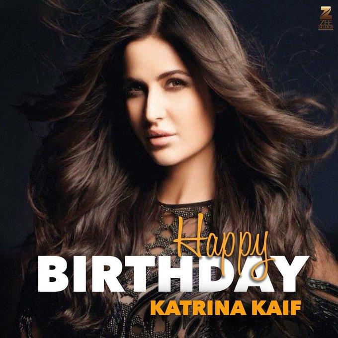 The mesmerising and talented, here\s wishing Katrina Kaif a very Happy Birthday.
