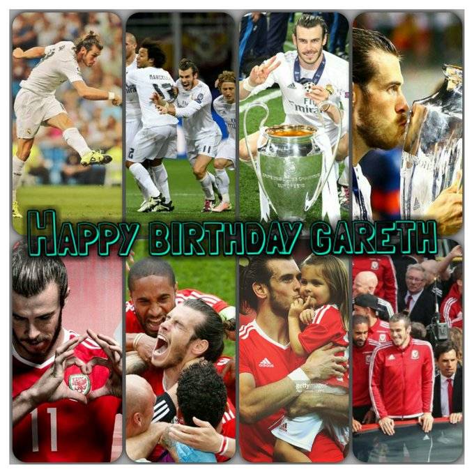 Happy 28th BirthDay Gareth Bale!!    A Great Player and a Great Person!!
