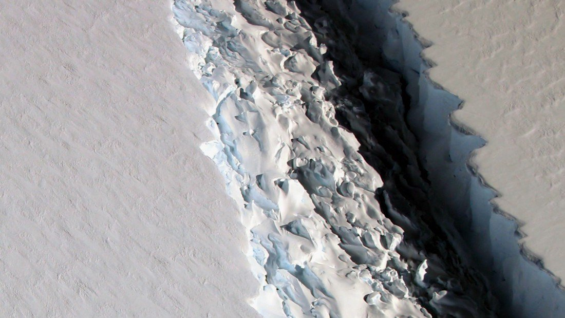 That huge iceberg should freak you out. Here's why