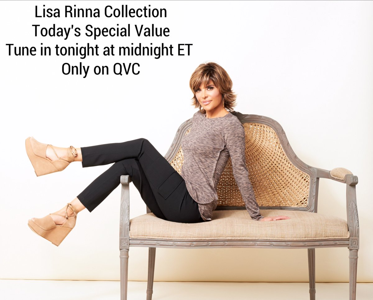 Tonight! New cargo pants in California Crepe knit fabric! #TSV #LisaRinnaCollection ???????????? https://t.co/jzZVgFX2I3
