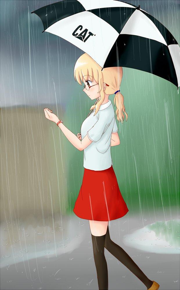 雨の日#三者三葉#葉山照