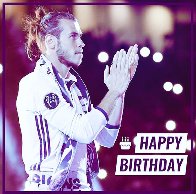 Happy Birthday Gareth Bale...!!
