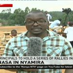 Raila Odinga takes NASA campaigns to Nyamira