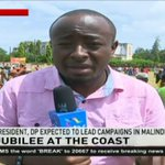President Uhuru and DP Ruto set to campaign in Malindi and Kilifi