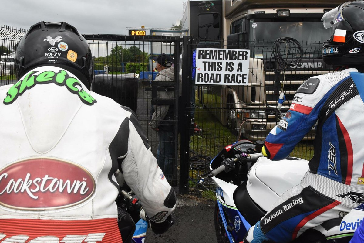 test Twitter Media - You can only imagine the mixture of nerves, excitement and adrenalin in the holding area at Dundrod. Not long to go now! #MCEUGP https://t.co/fW9XX1aeDD