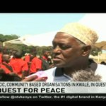 NCIC and community based organisations campaigns for peace in Kwale
