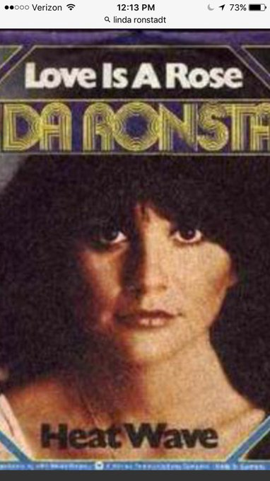 Happy birthday to my hero, Linda Ronstadt!