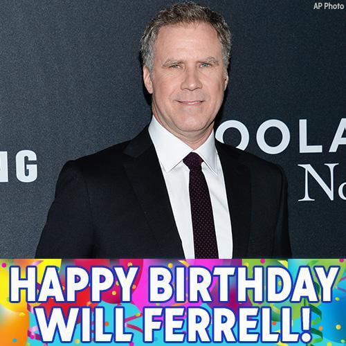 Happy 50th Birthday to funny man Will Ferrell!