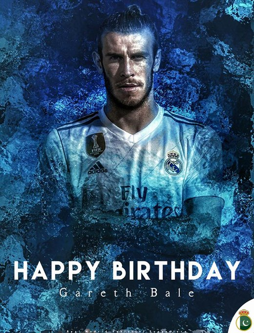 Happy Birthday Gareth Bale.