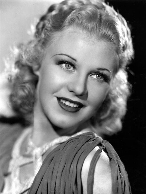 Happy Birthday Ginger Rogers, Barnard Hughes, and