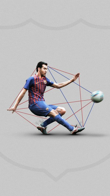 Happy birthday Sergio Busquets! A crucial cog in the Barca midfield