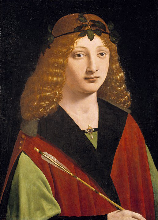 Portrait of a Youth Holding an Arrow — Giovanni AntonioBoltraffio https://t.co/ykO2Ge1YIS https://t.co/fC5RrwHg09