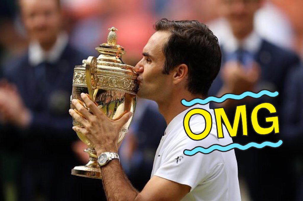 19����!! The king @rogerfederer !! https://t.co/x3CUxdOjVJ