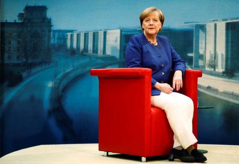 Merkel says German government will further increase investment