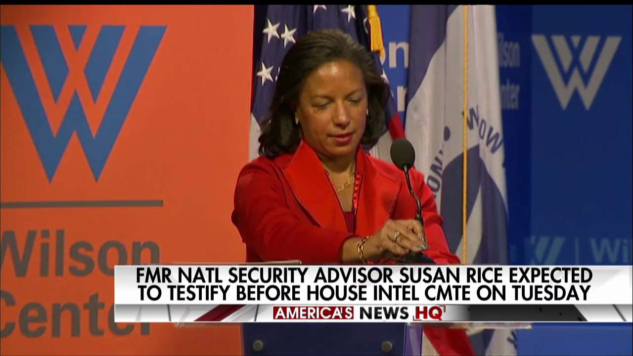 Former National Security Advisor Susan Rice expected to testify before House Intelligence Committee on Tuesday. https://t.co/4wMi3CrhmC