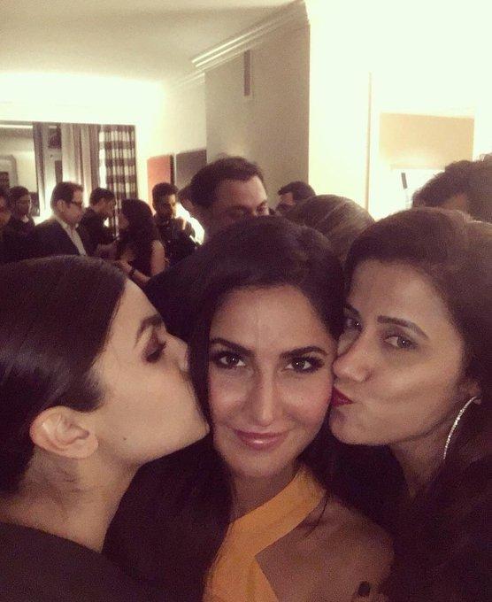 Alia Bhatt with Katrina Kaif and Yasmin Karachiwala Happy Birthday Katrina Kaif!!