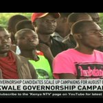 Kwale governor candidates intensify campaigns