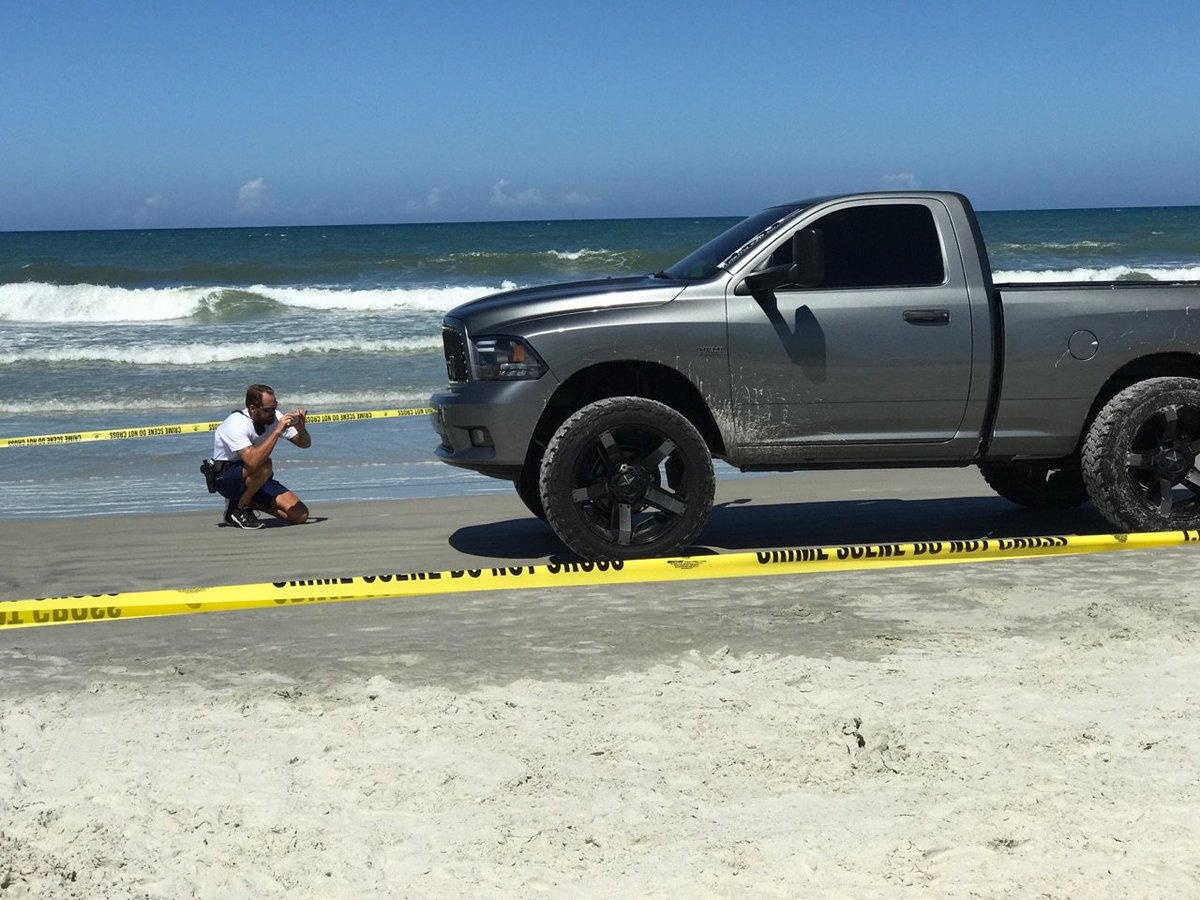 4-year-old boy run over, injured by truck on beach in Ormond
