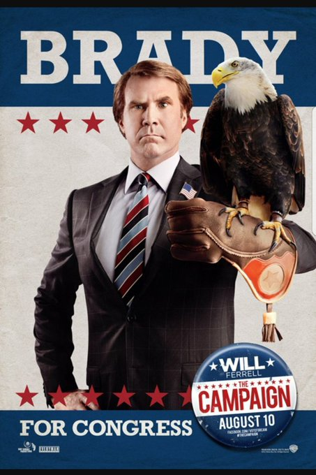 """Schools is this nations backbone.\"" - Cam Brady \012  Happy birthday to the man himself, Will Ferrell!"