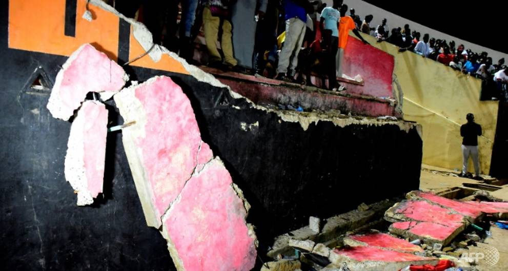 Senegal suspends sports events after stadium tragedy