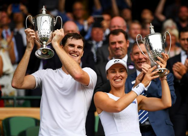 Thanks, partner for a wonderful 2 weeks at @Wimbledon ������ @jamie_murray https://t.co/o6pyzPGe6X
