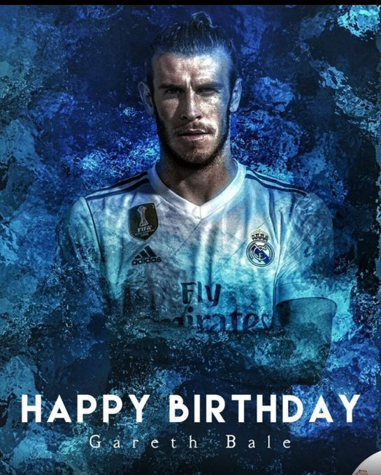 Happy birthday to Gareth Bale
