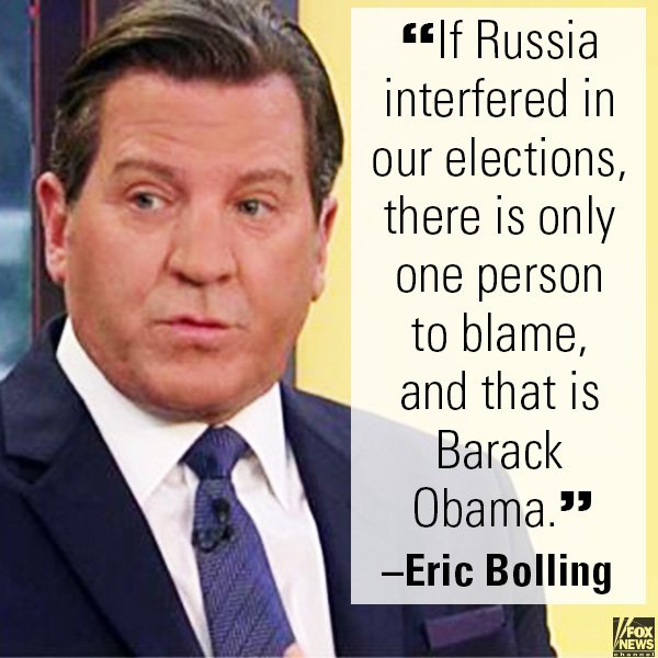 .@ericbolling: One Person, @POTUS44, to Blame for Any Russian Meddling https://t.co/SnagSG4NRx https://t.co/gRzoKcDZeh