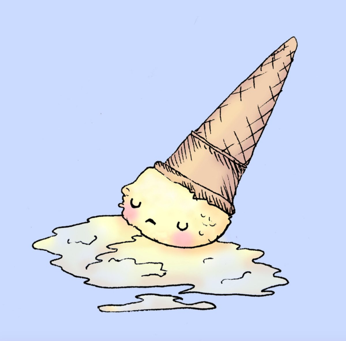 Moment of silence for all of today's cone casualties.. https://t.co/eOTGvhE8vM #NationalIceCreamDay ???? https://t.co/DMXShjb8ZB