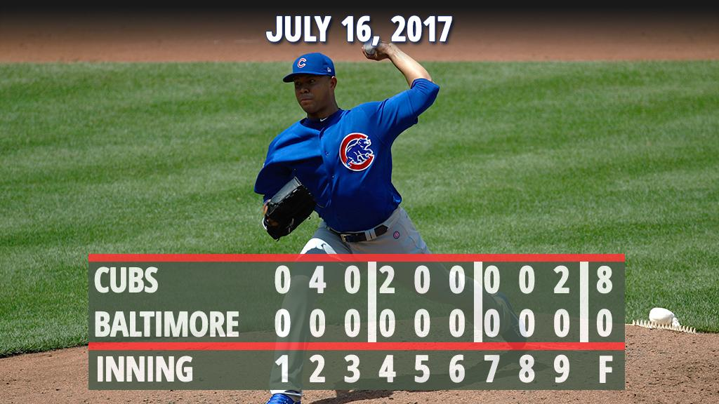 .@jose_quintana24 mows down 12 in stellar debut as #Cubs sweep.  Recap: https://t.co/elCiTA8UNa https://t.co/hf1argkWiX