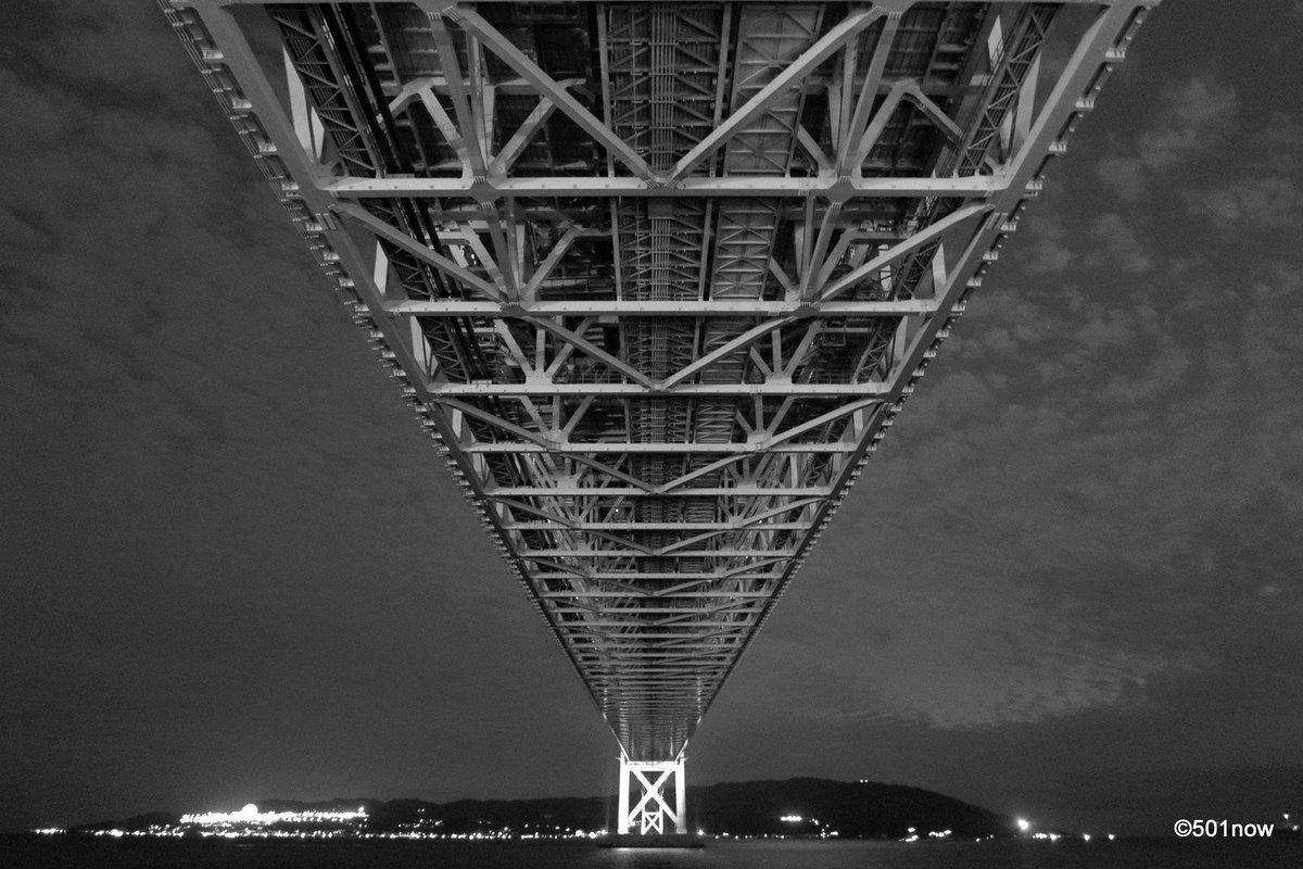 『明石海峡大橋 #2』#写真撮ってる人と繋がりたい#写真好きな人と繋がりたい#ファインダー越しの私の世界#写真 #カメラ