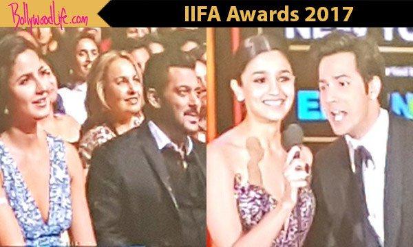 IIFA Awards 2017: Alia Bhatt and Varun Dhawan singing Happy Birthday for Katrina Kaif